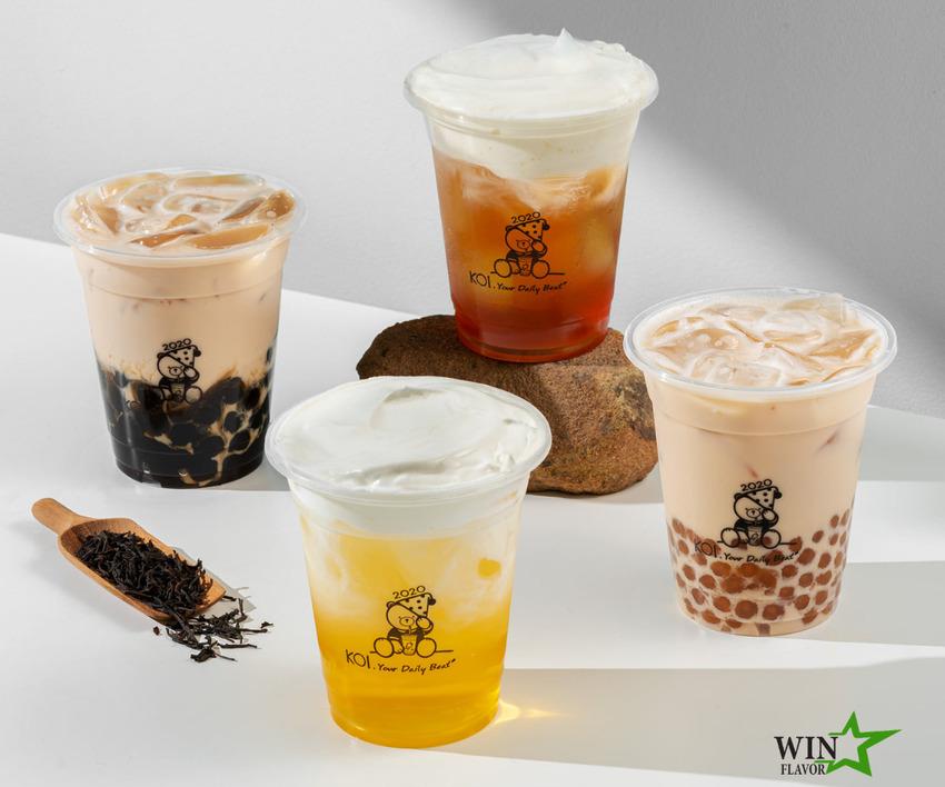 Koi Thé là một trong những thương hiệu nổi bật ứng dụng Four Seasons vào công thức sản phẩm