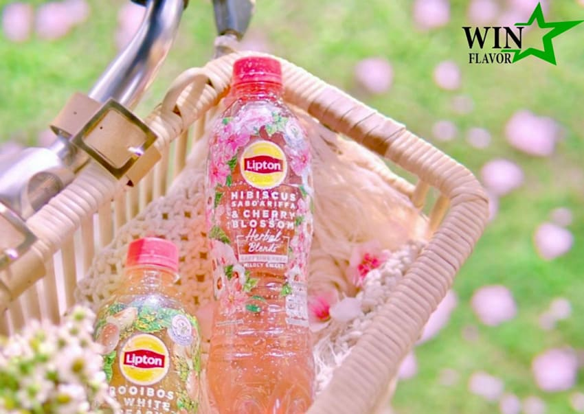 Một sáng tạo mới ứng dụng hương hoa bụp giấm của thương hiệu nước giải khát hàng đầu thế giới